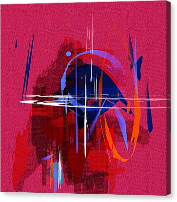 Canvas Print featuring the digital art Untitled 30 by Andrew Penman
