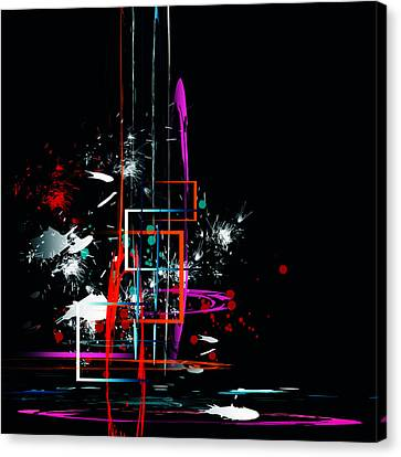 Canvas Print featuring the digital art Untitled 42 by Andrew Penman