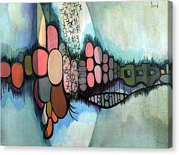 Untitled 720218 Canvas Print by Sam Sidders