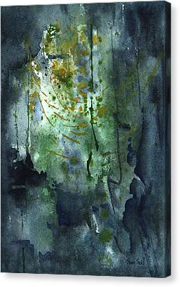 Untitled Abstract 128-13 Canvas Print by Sean Seal