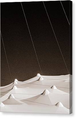 Canvas Print featuring the photograph Untitled by Arkady Kunysz
