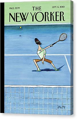New Yorker September 6th, 2010 Canvas Print by Arnold Roth