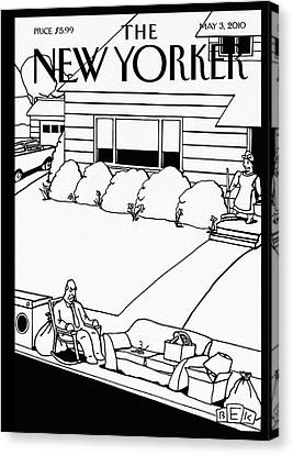 New Yorker May 3rd, 2010 Canvas Print