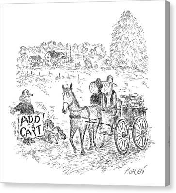 New Yorker September 12th, 2016 Canvas Print