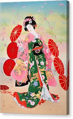 Untitled Canvas Print by Haruyo Morita
