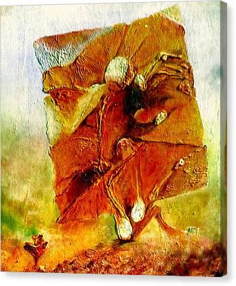 Untitled Canvas Print by Henryk Gorecki