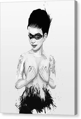 untitled III Canvas Print by Balazs Solti