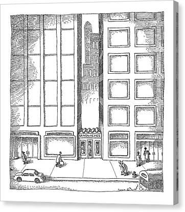 New Yorker December 12th, 2005 Canvas Print