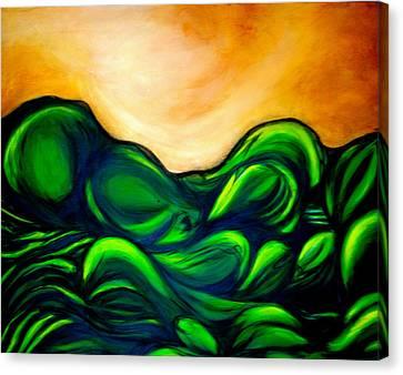 Untitled Canvas Print by Juliann Sweet