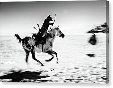 Aim Canvas Print - Untitled by Murat Yilmaz