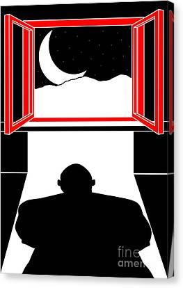 Untitled No.05 Canvas Print by Caio Caldas