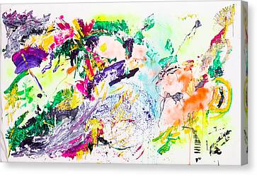 Untitled Number Eight Canvas Print