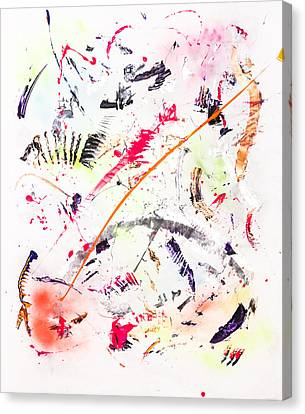 Untitled Number Seven  Canvas Print