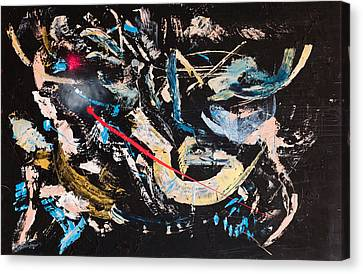 Untitled Number Ten Canvas Print