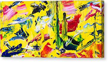 Untitled Number Twenty Canvas Print