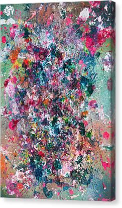 Untitled Number Twenty Nine Canvas Print by Maria  Lankina