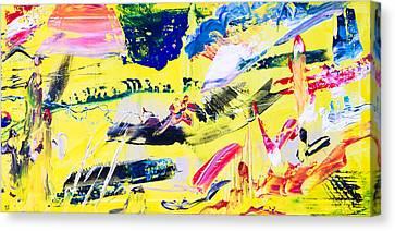 Untitled Number Twenty One Canvas Print
