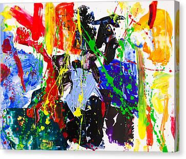 Untitled Number Twenty Three Canvas Print