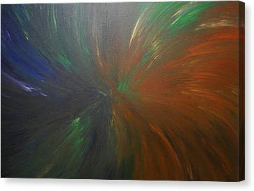 Untitled Painting 8 Canvas Print by Drew Shourd