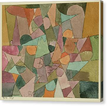 Cardboard Canvas Print - Untitled by Paul Klee