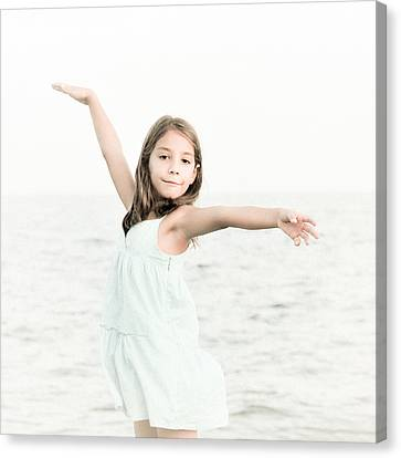 Sea Girl Canvas Print