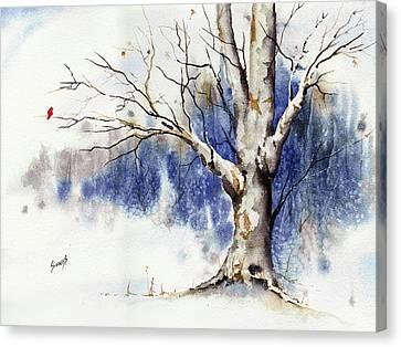 Untitled Winter Tree Canvas Print
