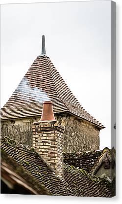 Unusual Roof Canvas Print