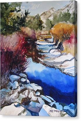 Up A Creek Canvas Print by Kris Parins
