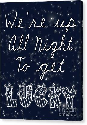 Up All Night Canvas Print by Pati Photography