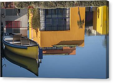 Canvas Print featuring the photograph Up Down Venice by Kevin Bergen