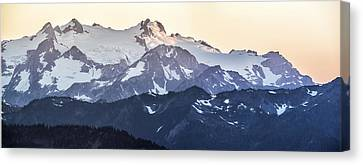 Up In The Mountains Canvas Print by Jon Glaser