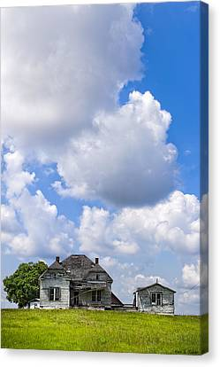Up On Memory Hill - Rural Georgia Canvas Print by Mark E Tisdale