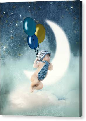 Up Up And Away Canvas Print by Katy Breen