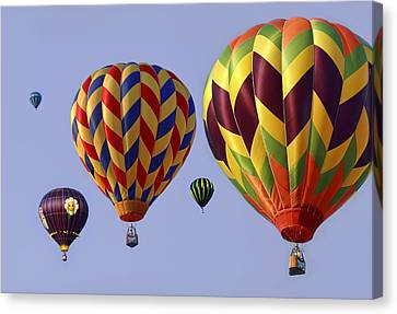 Up Up And Away Canvas Print by Marcia Colelli
