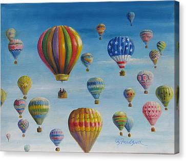Up Up And Away Canvas Print by Oz Freedgood