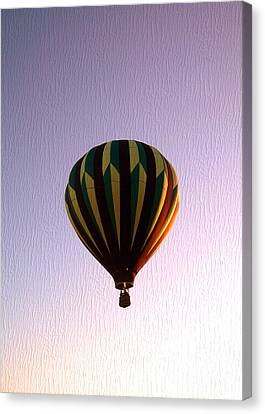 Up Where The Air Is Clear Canvas Print