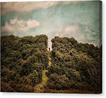 Uphill Climb Canvas Print