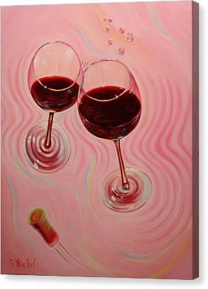 Uplifting Spirits II Canvas Print by Sandi Whetzel