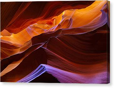 Upper Antelope Canyon Canvas Print by Giovanni Allievi