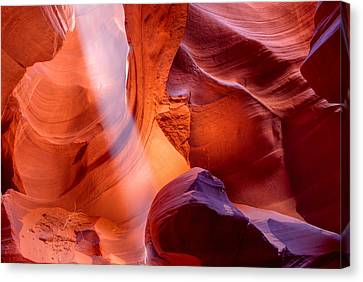 Upper Antelope Canyon Magic Canvas Print