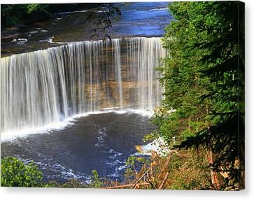 Upper Tahquamenon Falls Canvas Print by Dan Sproul