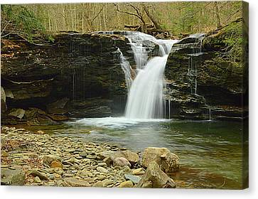 Upper Twin Falls #1 Canvas Print