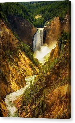 Upper Yellowstone Canvas Print