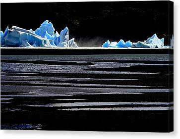 Upsala Glacier Canvas Print