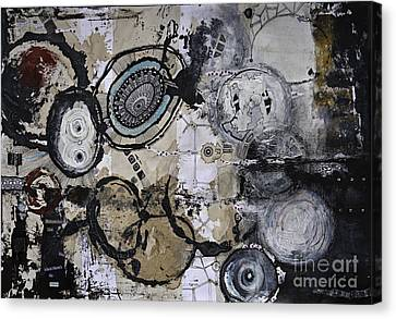 Jay Taylor Canvas Print - Upside Down And Inside Out by Jay Taylor
