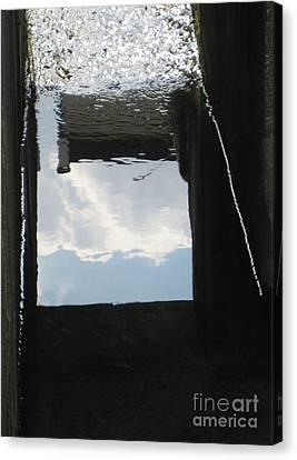 Upsidedown Sky Canvas Print by Taikan Nishimoto