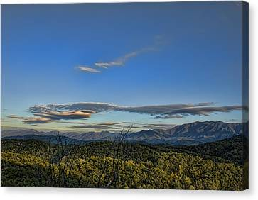 Gatlinburg Tennessee Canvas Print - Upslope Flow by Steven Richardson