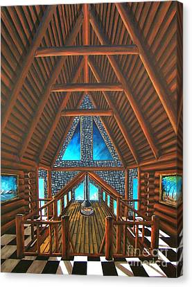 Upstairs Dream Canvas Print by Steven Lebron Langston