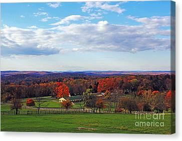 Upstate Canvas Print by Alison Tomich