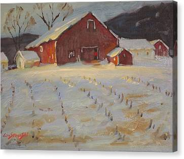 Upstate Canvas Print by Len Stomski